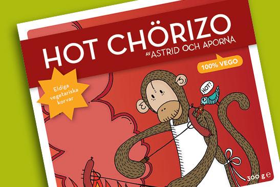 Hot Chörizo – Astrid och aporna