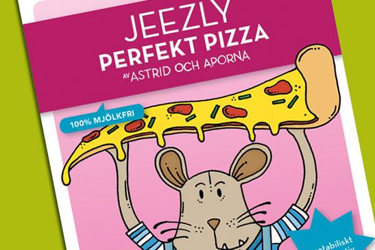 Perfekt Pizza – Astrid och aporna