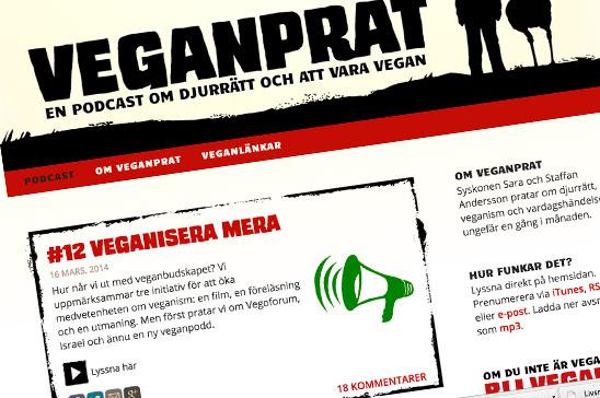 Veganprat – en underbar podcast
