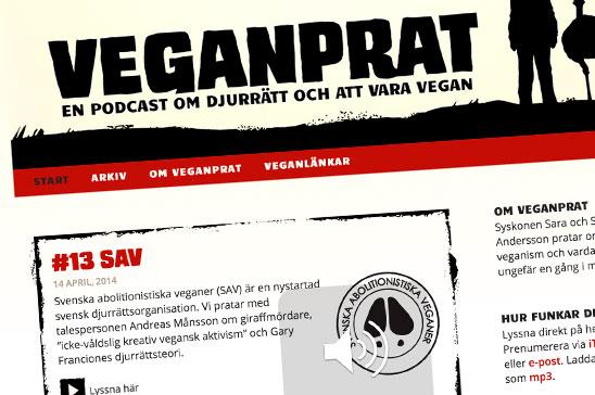 Nytt avsnitt av Veganprat
