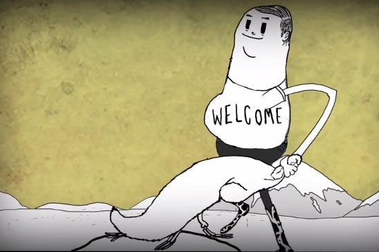Animerade kortfilmen – Man