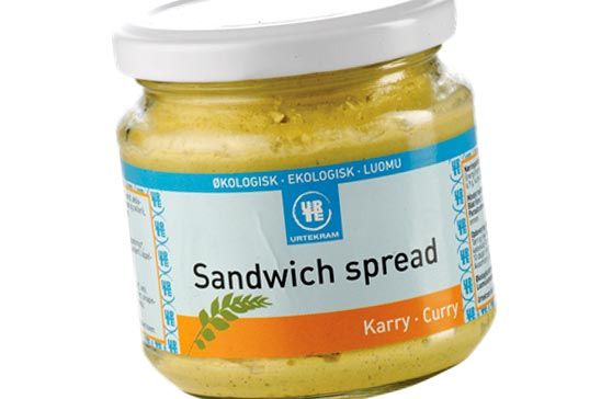 Sandwich spread – Curry